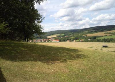Landschaft im Südharz