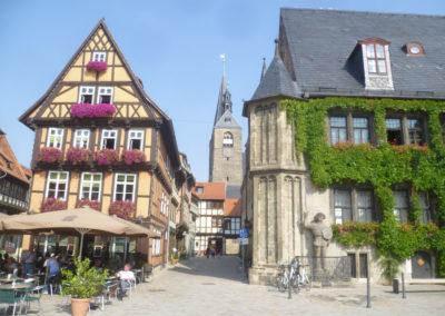 Quedlinburg Am Markt